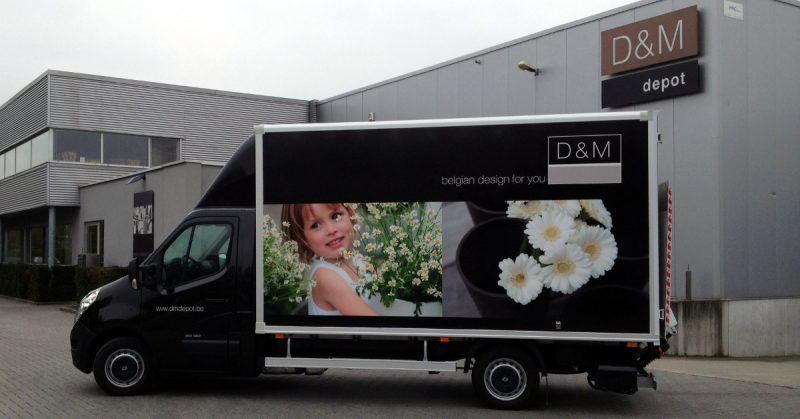 Bestickering Lichte vracht en wrap cabine D&M - Art Vision