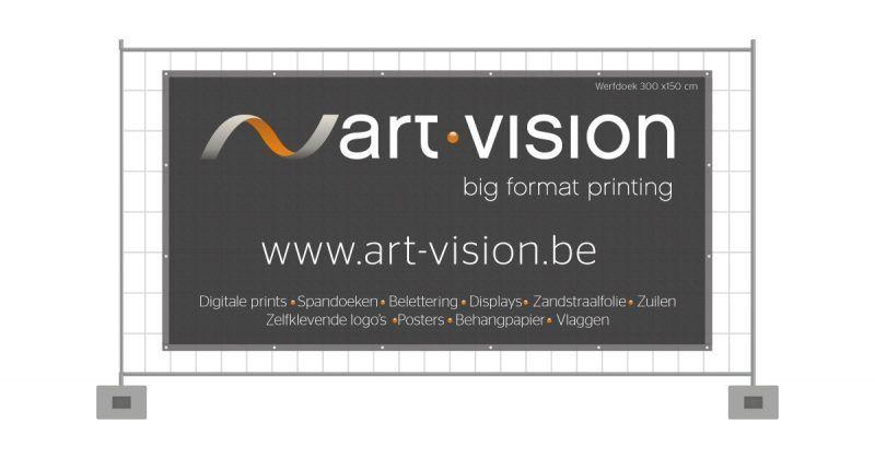Werfdoek 300x150 cm - Art Vision,