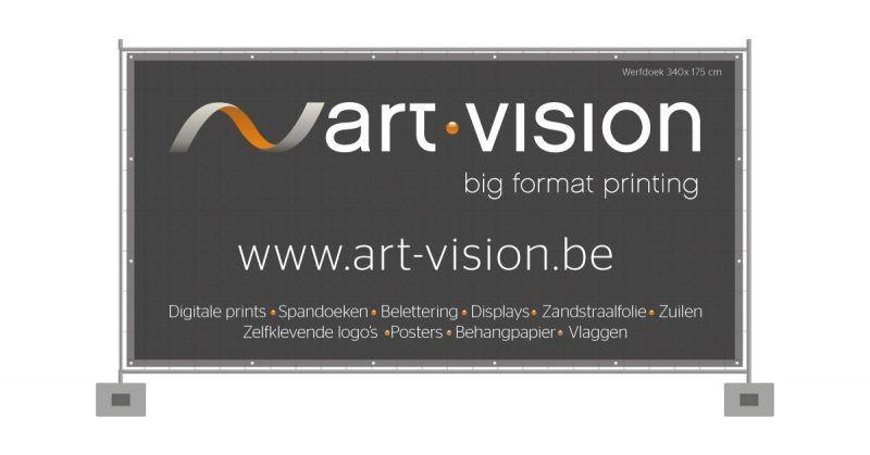 Werfdoek 340x175 cm - Art Vision