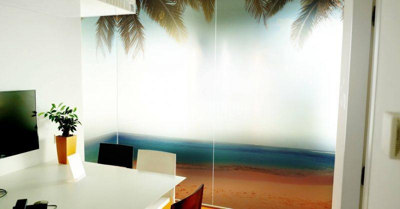 digitale print op transparante folie - Art Vision