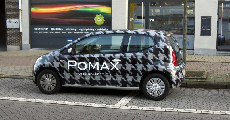 Bestickering carwrap pomax - Art Vision