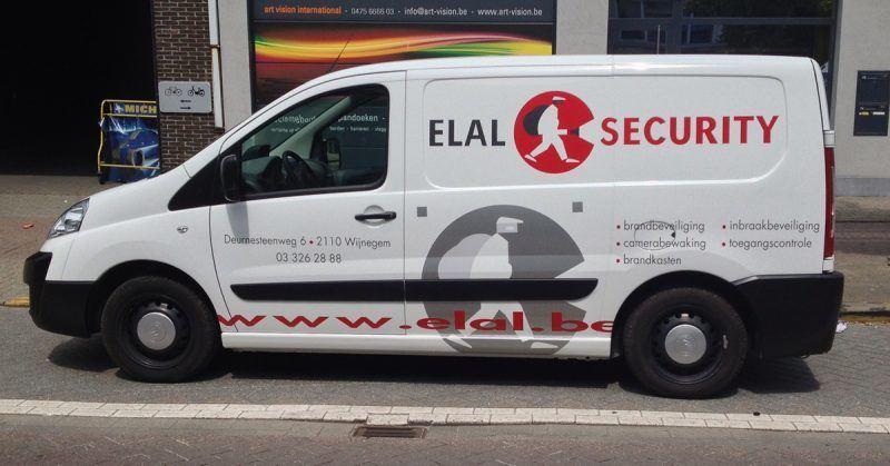 Elal camionette belettering - Art Vision
