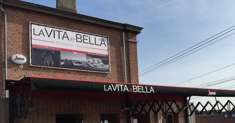 La Vita e Bella spandoek - Art Vision