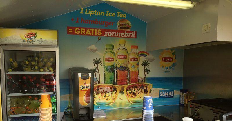 Lipton Sealife bestickering - Art Vision