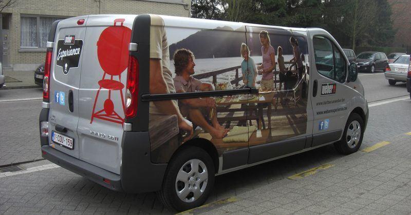 Carwrap Weber - Art Vision