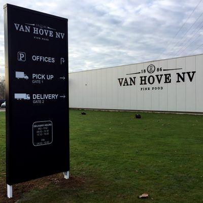 reclamezuil Van Hove Lier