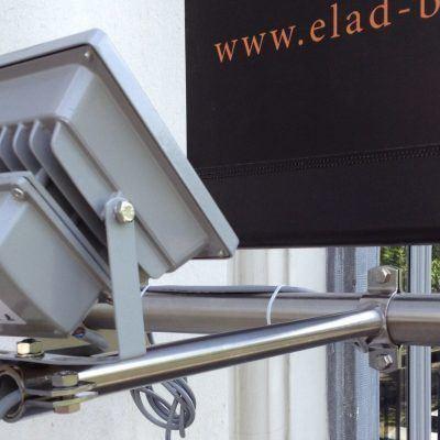 Elad Brody verlichting gevelbanner - Art Vision