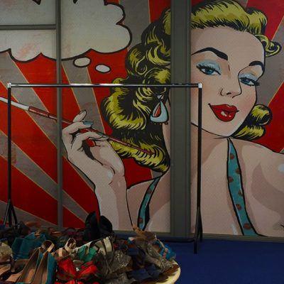 Digitale print inkleding winkel Gent